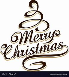 merry christmas typography vector free merry christmas typography royalty free vector image