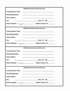 contest entry forms template blank contest entry form template charlotte clergy coalition