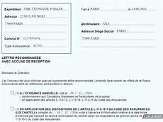 La Lettre De R 233 Siliation D Assurance Auto Mod 232 Le Et Conseils