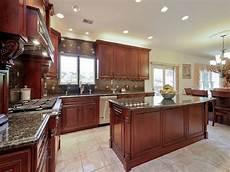 25 cherry wood kitchens cabinet designs ideas