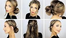 5 easy heatless hairstyles for work school danielle