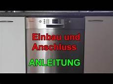 Montageanleitung Bosch Geschirrspuler Silence Plus