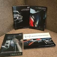 car manuals free online 2011 jaguar xf lane departure warning 2011 jaguar xf owners manual set with warranty guide and supplements ebay