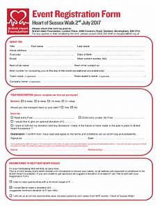 8 printable event registration form template fillable sles in pdf word to download pdffiller