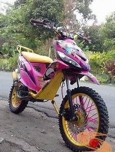 Modifikasi Matic Trail by Kumpulan Gambar Motor Trail Basis Motor Matic Alias Trail