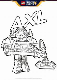 Nexo Knights Ausmalbilder Axl Axl Coloring Pages Lego 174 Nexo Knights Lego Us