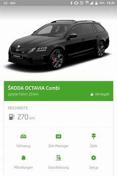 Skoda Connect Fernzugriff Auf Das Fahrzeug My Digital Home