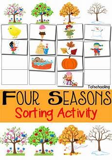season worksheets for kindergarten 14894 four seasons sorting activity free printable totschooling toddler preschool kindergarten