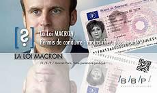 que dit la loi macron sur le permis de conduire