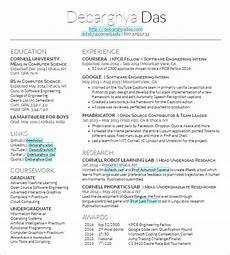 latex resume template project scope template
