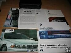 free service manuals online 2002 bmw 530 parental controls 2002 bmw 525i 530i 540i owners manual sport wagon sedan ebay