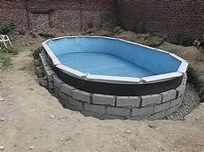 construire une piscine hors sol soi meme jardin piscine