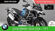 2018 bmw 1200 gs adventure rallye with tft screen our