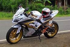 Modifikasi 250 Fi by 30 Gambar Modifikasi Kawasaki 250 Fi Simpel Gagah