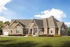 ranch craftsman house plans craftsman ranch home plan with 3 car garage 360008dk