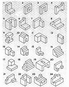 isometric drawing exles got 5 minutes to spare in class give the students isometric drawing