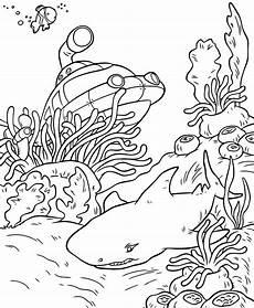 Ausmalbilder Unterwasser Tiere Schoene Unterwasserwelt Ausmalbilder Dekoking 8