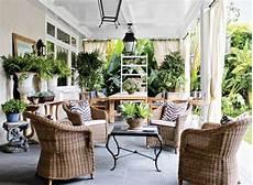 Ideen Für Terrassen - terrassen ideen im traditionellen stil mit korbm 246 beln und