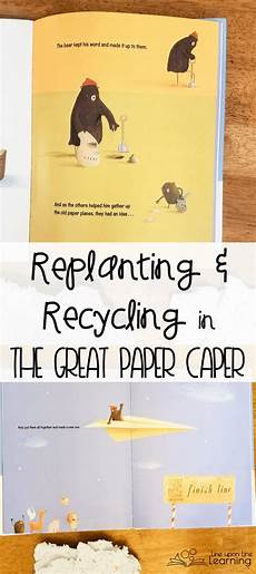 the great paper caper worksheets 15669 conserving trees and recycling paper a picture book lesson recycling information recycling