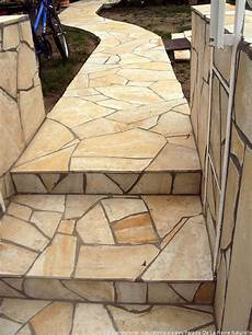 Polygonalplatten Verlegen Wand - verlegebeispiele solnhofener natursteinparadies