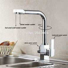 water faucets kitchen gizero drink water faucet kitchen sink mixer tap chrome copper brass dual handle water