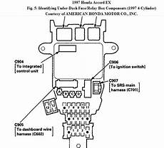97 honda accord fuse box diagram color guages not working on 97 accord 1st day speedometer stopped 2nd day all guages stopped