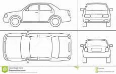 passenger car keyline stock vector illustration of rear 22263396
