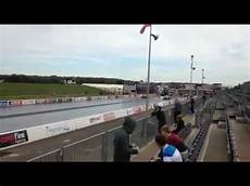 bmw m2 saab 9 5 aero stage 5 quarter mile drag race at santa pod youtube