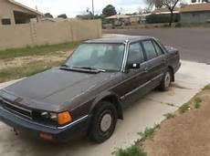 how petrol cars work 1985 honda accord user handbook 1985 honda accord sei for sale in buckeye arizona united states for sale photos technical