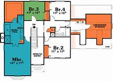 icf house plans icf house plan 40818db architectural designs house plans