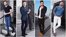 4 easy outfits for men the blue lookbook men s fashion inspiration fall 2017 youtube