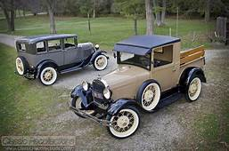 FEATURE 1928 Ford Model A Pickup & 1930 Town