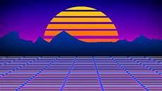 Retro Digital Wallpaper