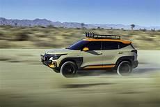 Kia Seltos X Line Trail Attack Concept 2019 4k Wallpapers
