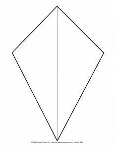 Kite Template For Bulletin Board