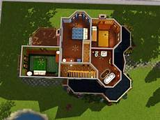 sims 2 house floor plans sims 2 home floor plans