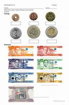 counting money worksheets in peso 2196 money philippine coins and bills worksheet free esl printable worksheets made by teachers