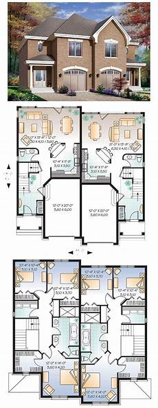 multi family house plans duplex 28 best duplex multiplex plans images on pinterest