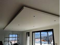 coffre eclairage plafond faux plafond en ba13 avec spots int 233 gr 233 s technique