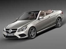 mercedes e class amg convertible 2015 3d model max
