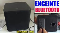 enceinte bluetooth lidl silvercrest sbls 20 speaker