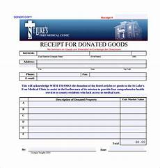 receipt for donation of goods template free 20 donation receipt templates in pdf docs