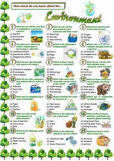 nature protection worksheets 15140 environment quiz worksheet free esl printable worksheets made by teachers