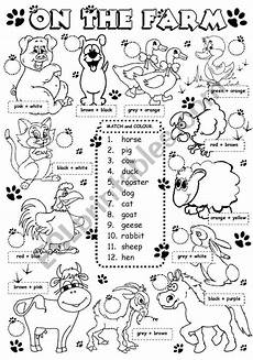 animal worksheets grade 2 13869 the from a set of animal ws levels 1 2 match color i used two different color