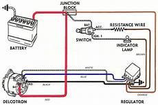 82 gm starter wiring converting a generator to an internally regulated alternator wallace racing alternator car