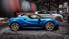 limited edition 2020 alfa romeo 4c spider italia adds even