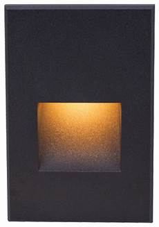 led 12v led me vertical step and wall light black stair and step lights by wac lighting