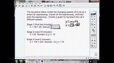 real life problem using slope intercept form youtube