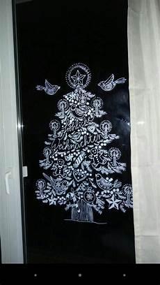 Fensterbilder Vorlagen Weihnachten Kreide Fenster Deko Mit Kreidemarkern Und Vorlagen Nach Bine