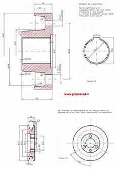 disegno tecnico dispense semigiunto a puleggia bearing hub assembly and pulley